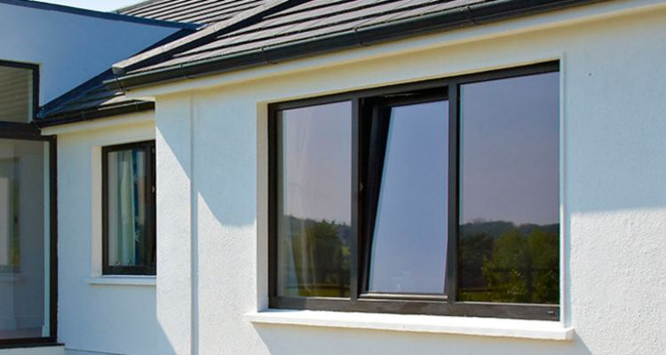 Admiral Windows Oxford Aluminium Tilt Turn Window in Black