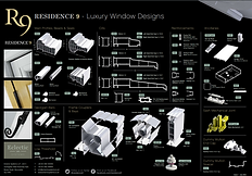 The Residence Collection R9 Luxury Window Designs Tech Spech Brochure