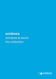 Exlabesa Aluminium Windows and Doors The Collection Brochure