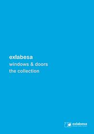 Exlabesa The Collection of Aluminium Windows and Doors Brochure