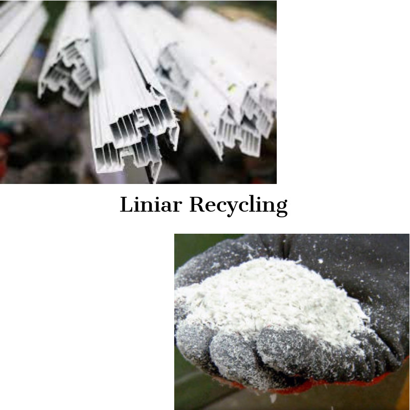 Liniar double glazing manufacturer recycling facilities