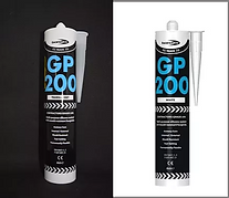 White and clear Bond It Silicone GP 200