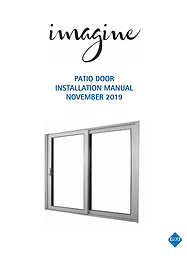 VEKA Imagine Pation Door Installation Manual