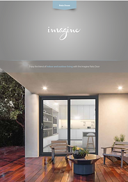 VEKA Patio Doors Imagine Collection Brochure
