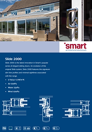 SMART Architectural Aluminium Sliding Patio Doors Slide 2000 Brochure
