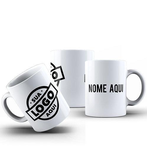Caneca Logo e Nome