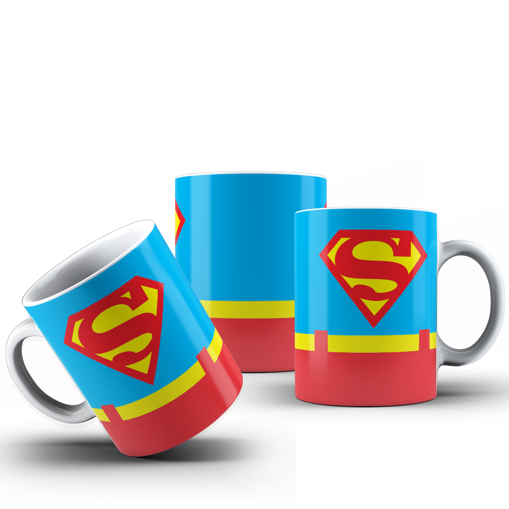 CANECA UNIFORME SUPERMAN 001
