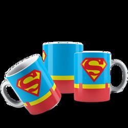 CANECA UNIFORME SUPERMAN 001