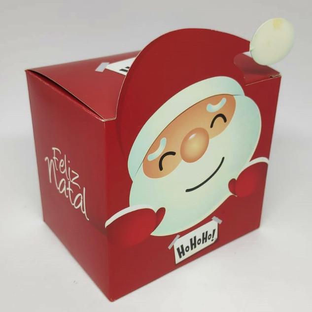 Caixinha para Caneca Papai Noel