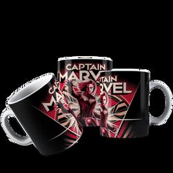 CANECA CAPITÃ MARVEL 001