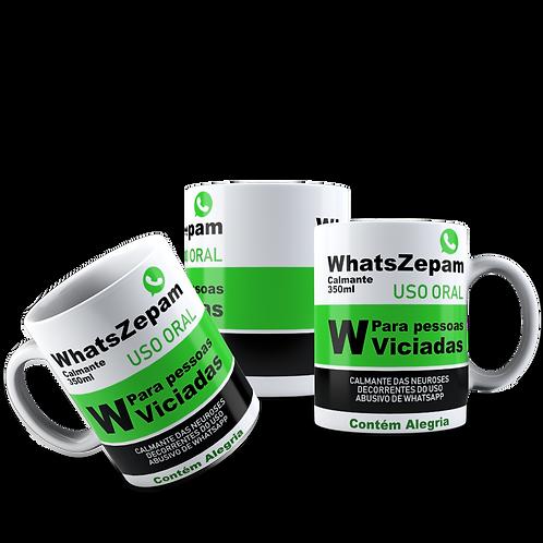 Caneca WhatsZepam