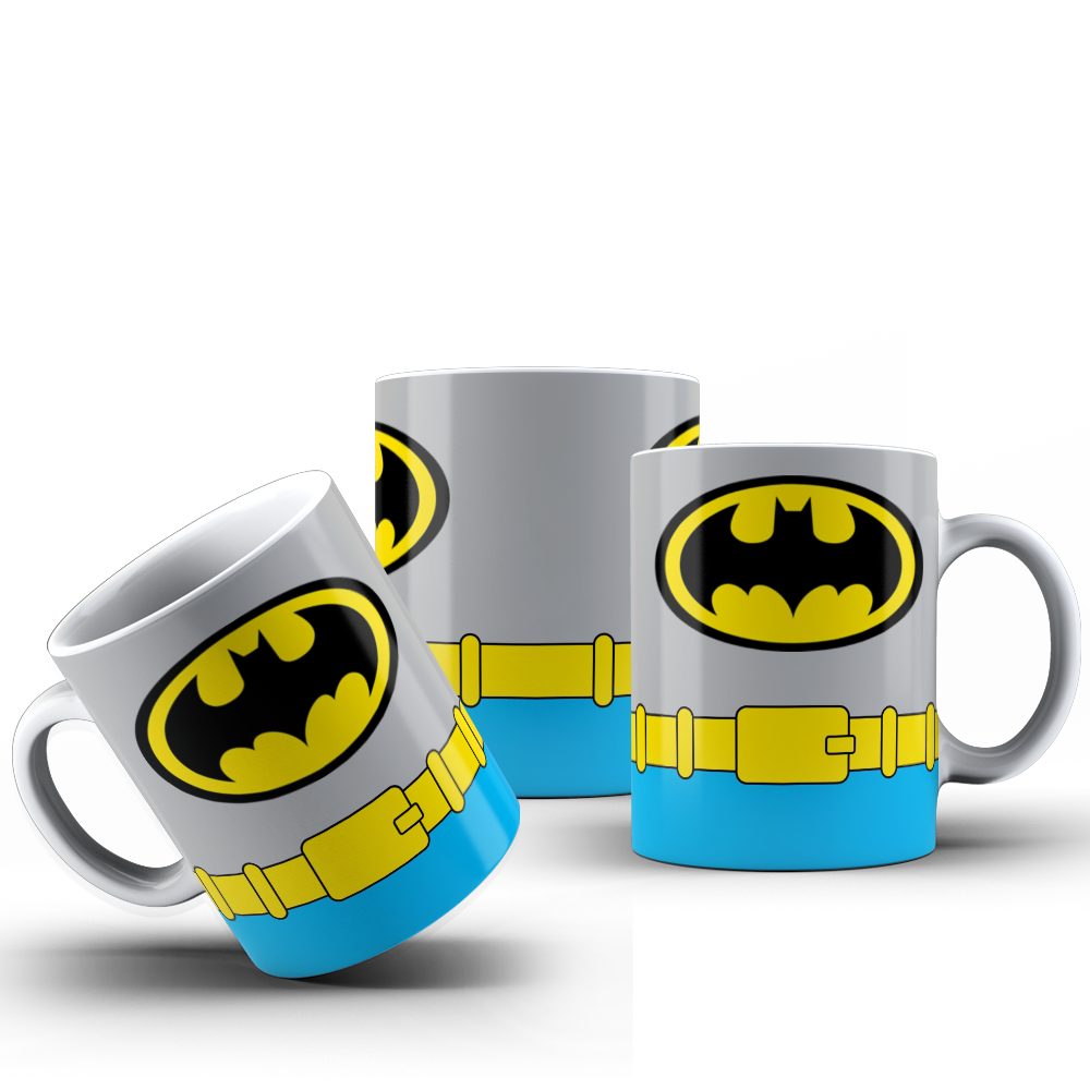 CANECA UNIFORME BATMAN 001