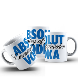 CANECA ABSOLUT VODKA 001