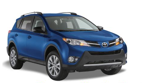 Toyota Rav4 or similar