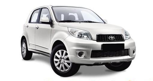 Toyota Rush ou équivalent