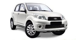 Toyota Rush o similar