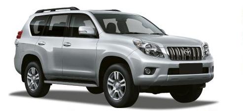 Toyota Prado ou équivalent