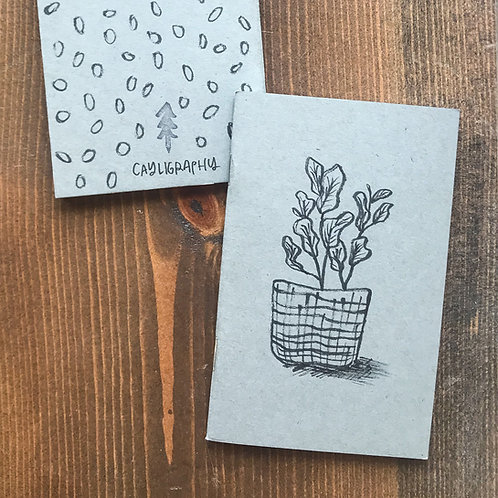 Fiddle Leaf Fig Pocket Notebook