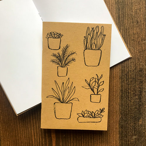 Plant Collection Pocket Notebook