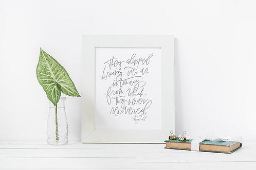 Quote | Fitzgerald | Digital Print