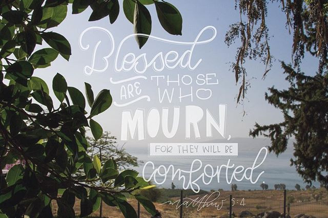 30 _#30daysofbiblelettering _This past October, I stood on the Mount of Beatitudes, on the shore of the Galilee, and listened to the sermo