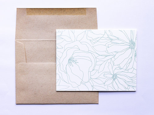 Big Botanicals Greeting Card