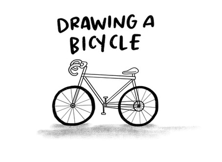 LEARN: How to Draw A Bike