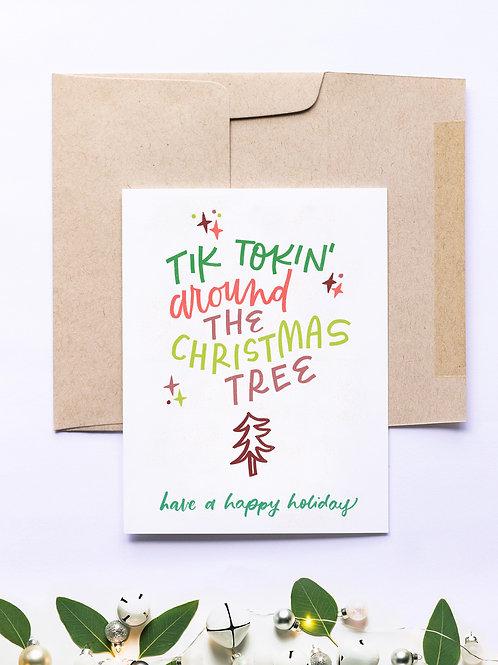 Tik Tokin' Greeting Card
