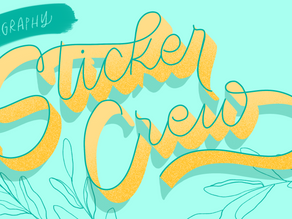 Announcing: The Sticker Crew!