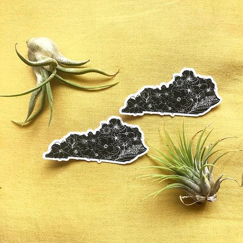 Kentucky Native Botanicals Vinyl Sticker
