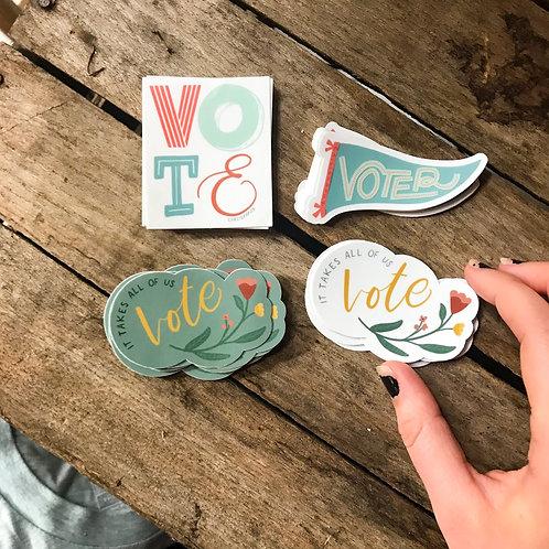 Voting Sticker Pack