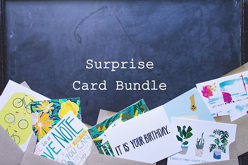 Surprise Card Bundle