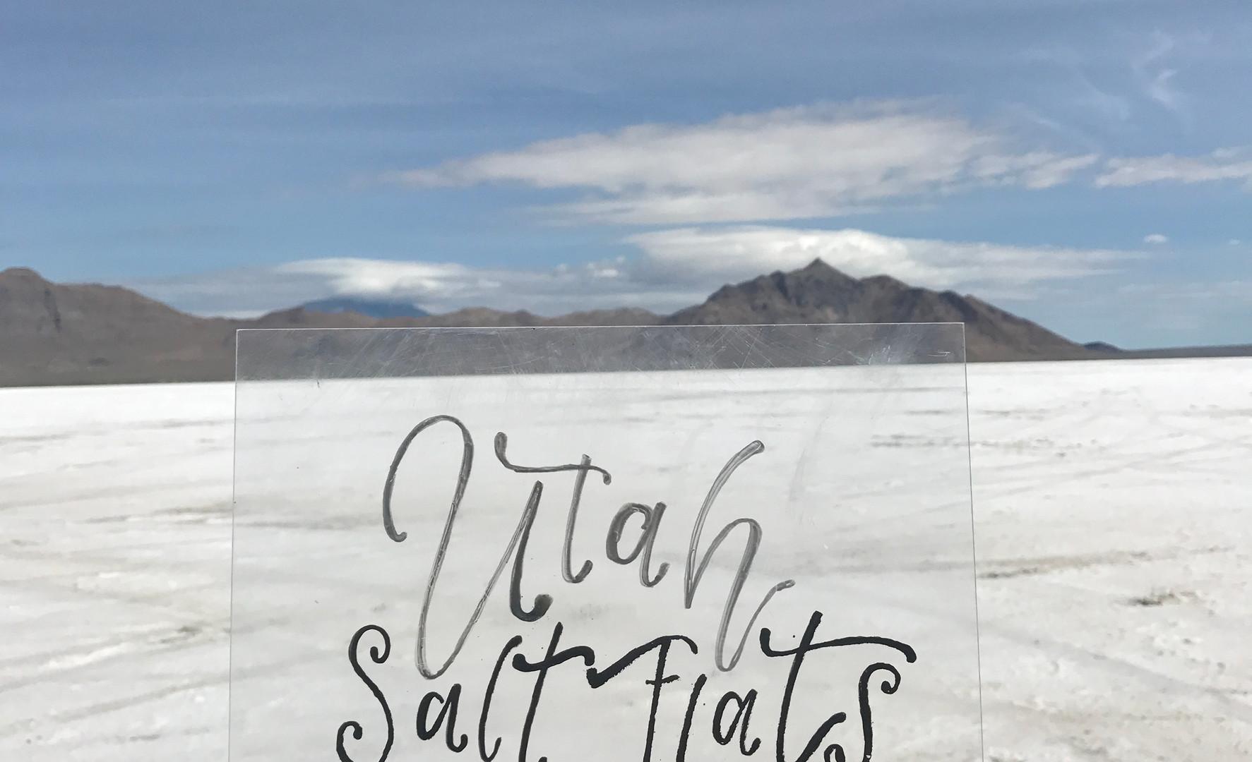 Utah Salt Flats