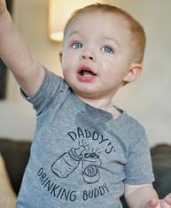 Daddy's Drinking Buddy Toddler Triblend