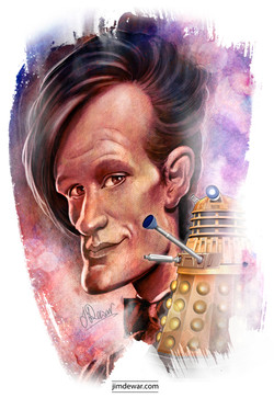 Mat Smith as Doctor Who