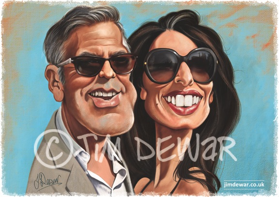 Mrs & Mrs George Clooney