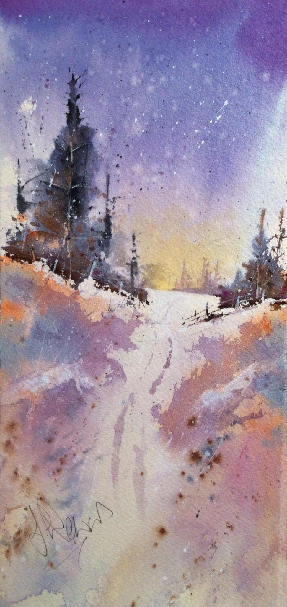Early Morning Snowfall
