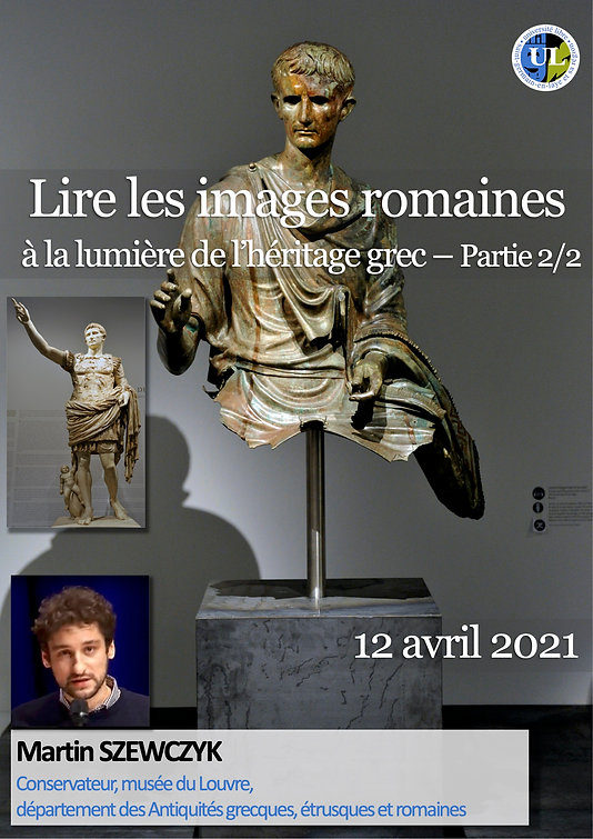 210412 SZEWCZYK Lire images Romaines 2 -