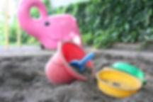 幼稚園のお砂場