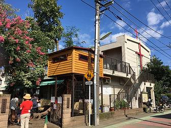 幼稚園とツリーハウス