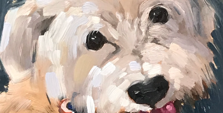 Custom Pet Portrait - Ginger