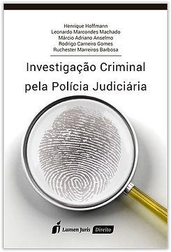 Capa Investigação Criminal pela Polícia