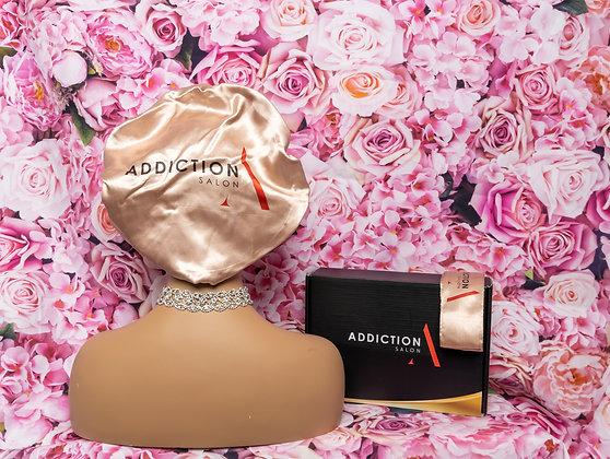 Addiction Salon Hair Bonnet