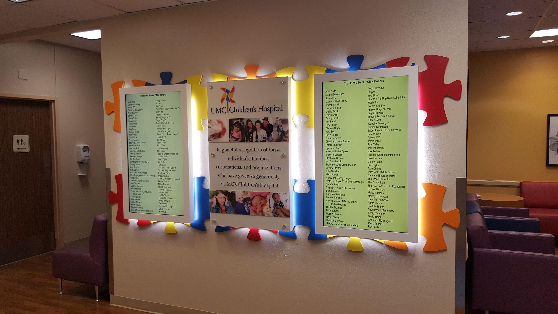 UMC Childrens Display Monitors