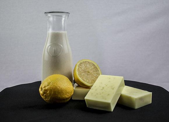 Lemon Ginger Goat Milk Facial Soap