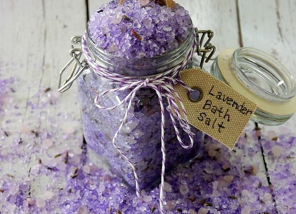 Lavender Detox Bath Salts (6oz)