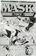 12. Kenner Comics M.A.S.K. Force (1985).