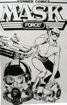 13. Kenner Comics M.A.S.K. Force (1985).