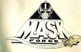 5. M.A.S.K. Force - Rough Draft (1984).J
