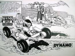 35. M.A.S.K. Split Seconds - Dynamo (198